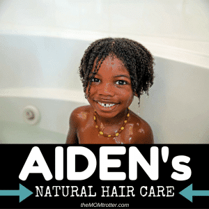 Natural Hair Care Regimen For Children Of Color