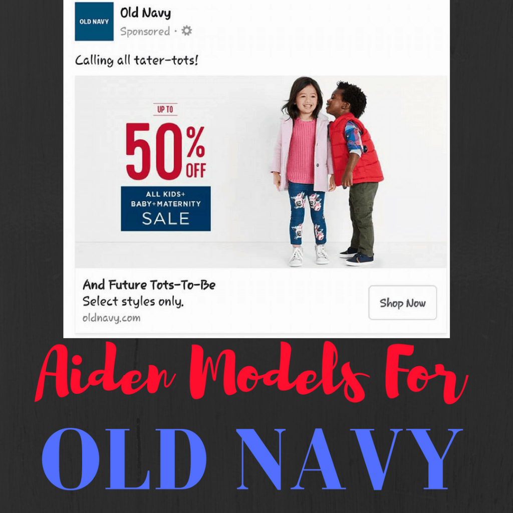 Aiden Models For Old Navy