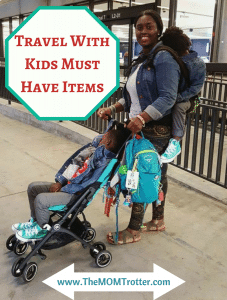 Must Have Items When Traveling With Kids