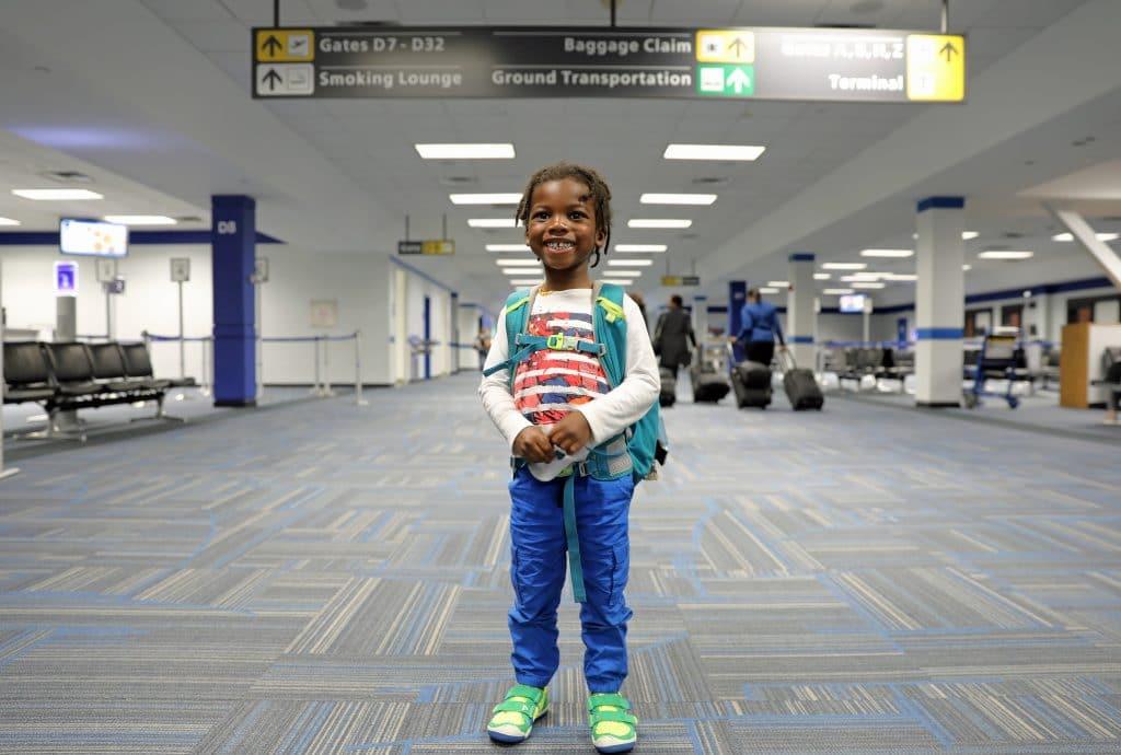 Keeping Kids Entertained On Flights - Black Kids Travel