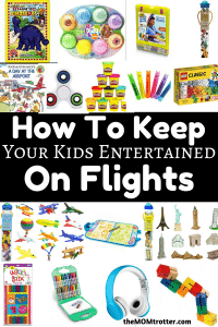 How To Keep Your Kids Entertained On Flights