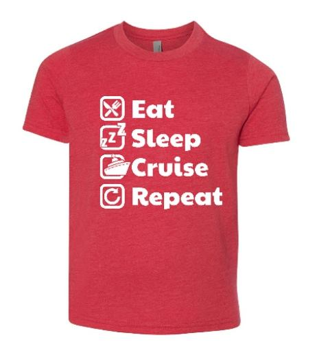 Eat Sleep Cruise Repeat