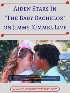 "Aiden Stars in ""The Baby Bachelor"" – On Jimmy Kimmel Live"