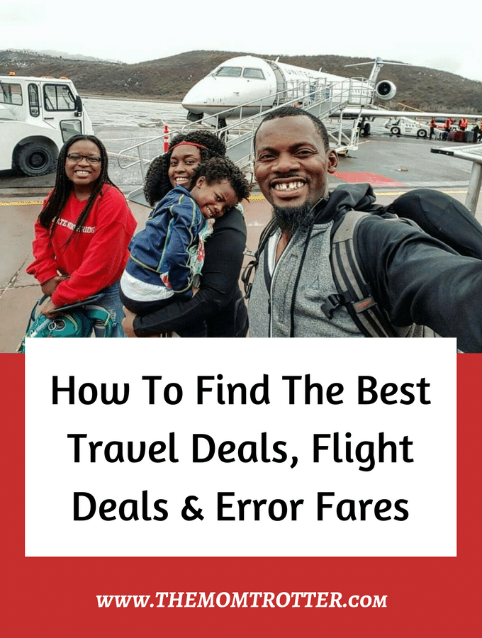 Best Websites To Find Cheap Flights & Error Fares | The MOM Trotter
