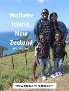 Waiheke Island, New Zealand With Kids