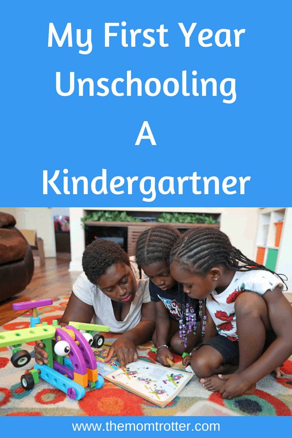 My First Year Unschooling A Kindergartner
