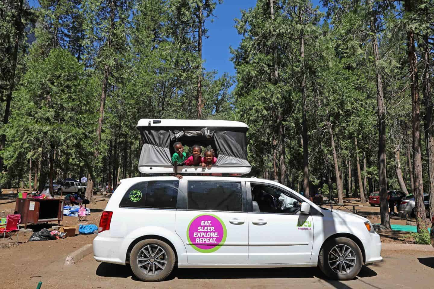 Camping With Kids In Yosemite National Park
