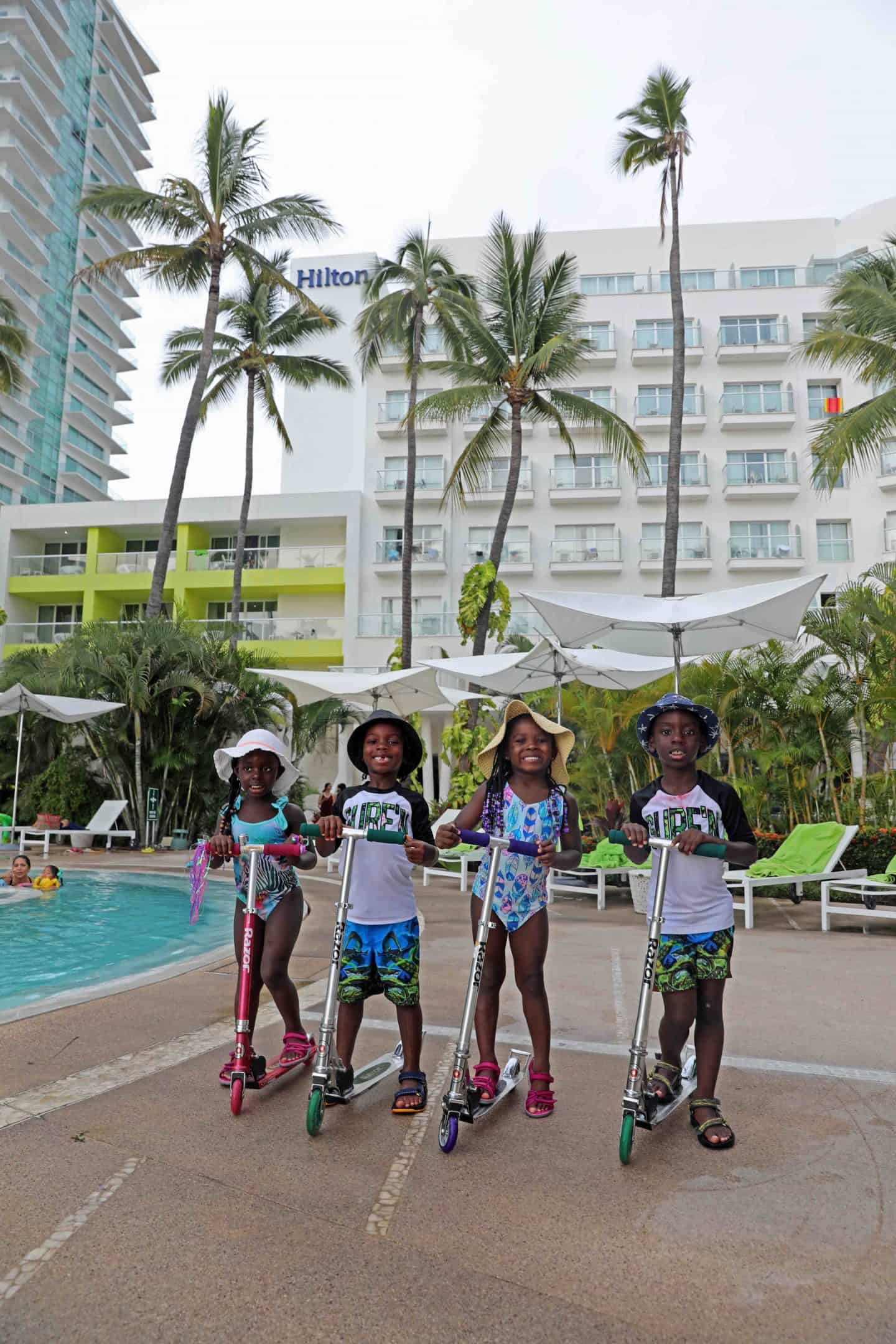 summer time fun in puerto vallarta with kids