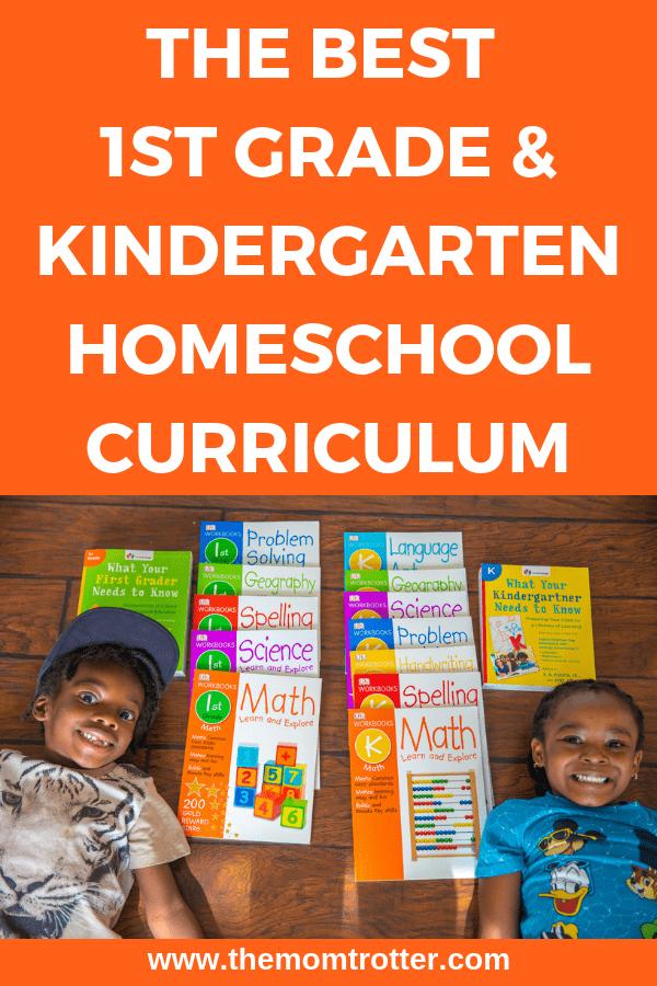 The Best Kindergarten Homeschool Curriculum Preschool 1st