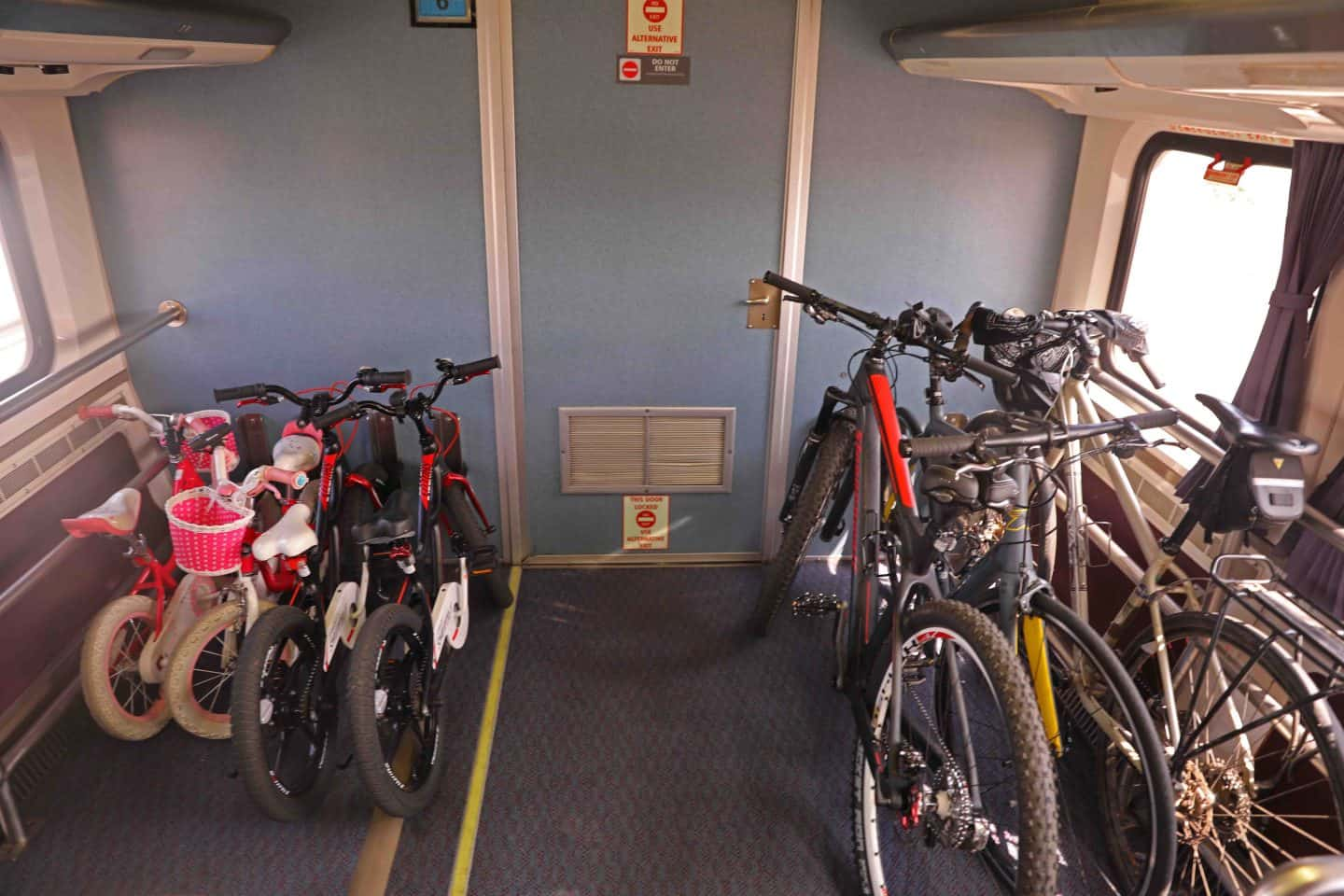 Traveling with bikes on Amtrak from Los Angeles to San Diego