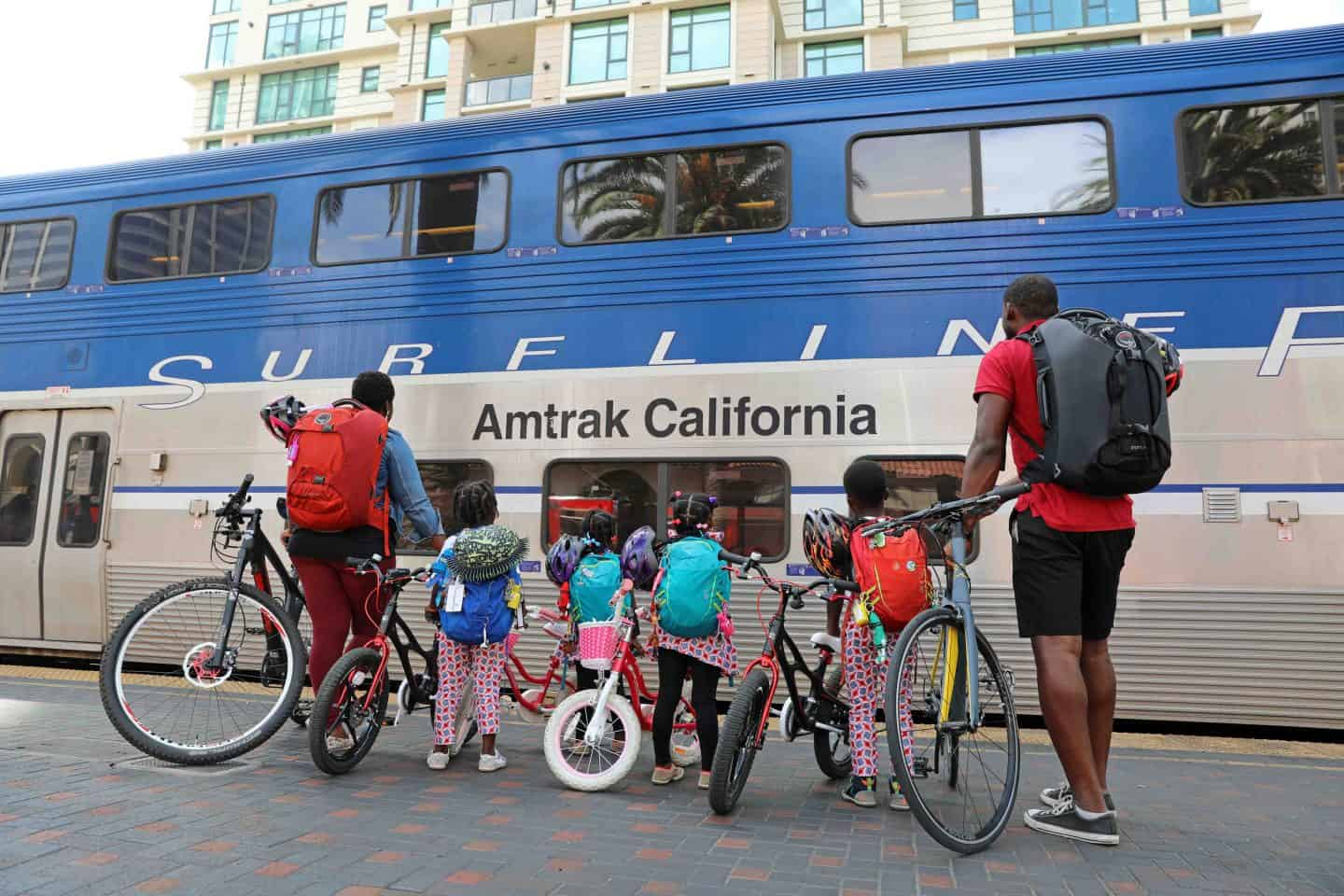 Los Angeles To San Diego On The Amtrak Train With Kids