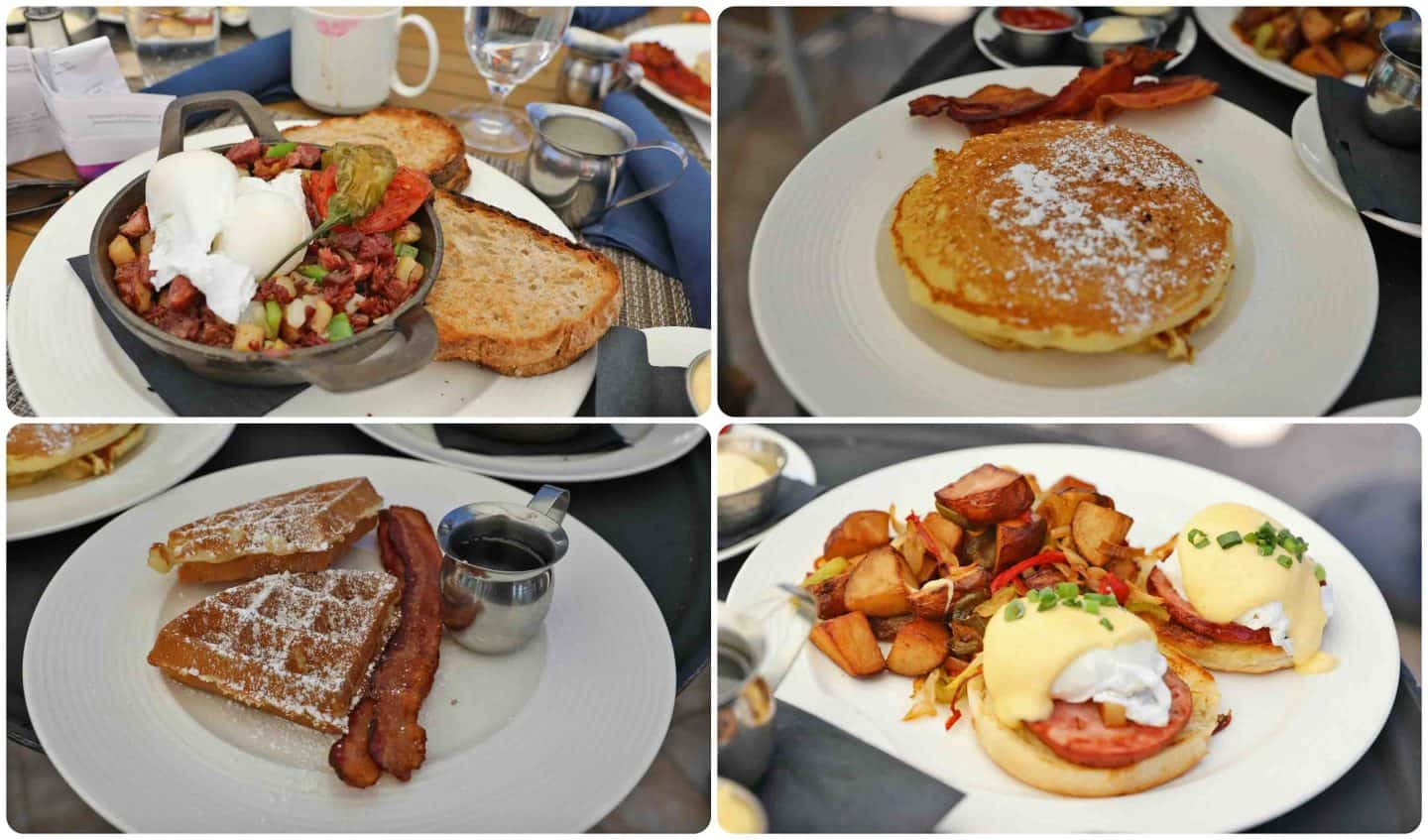 blue ember omni rancho las palmas breakfast and brunch dishes