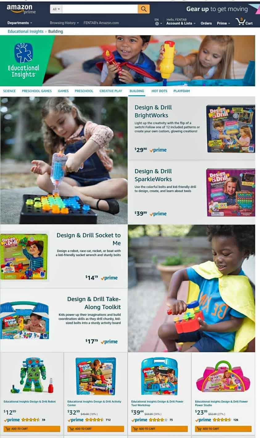Publicidad de Amazon con modelos infantiles. - What Are The Best Model And Talent Agencies For Kids In Los Angeles