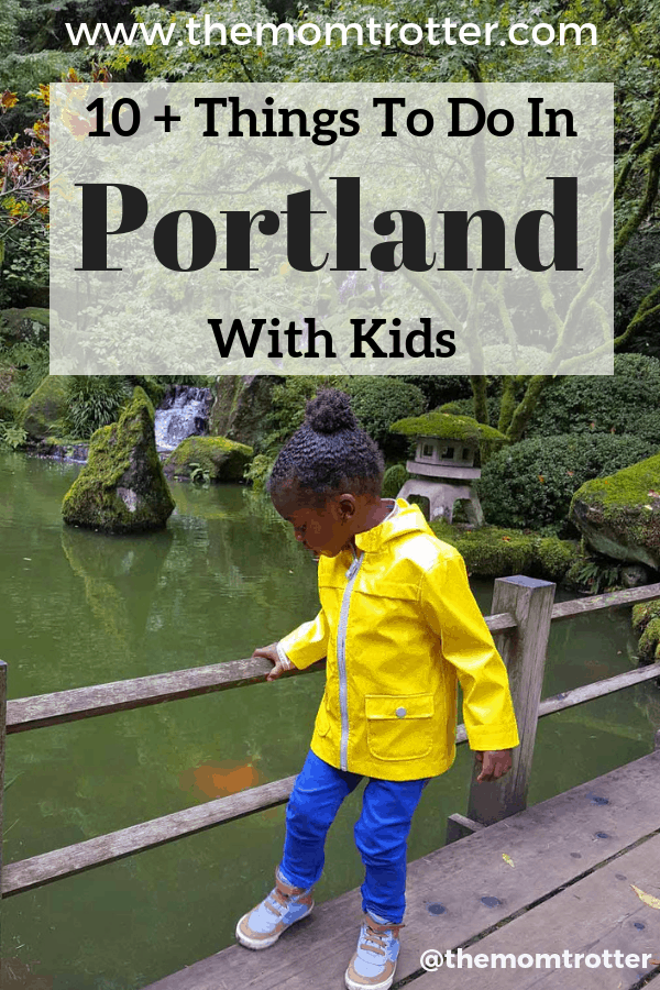 best things to do in portland with kids