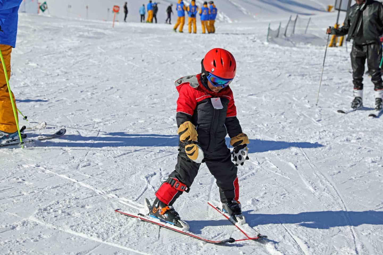 ski trip with kids