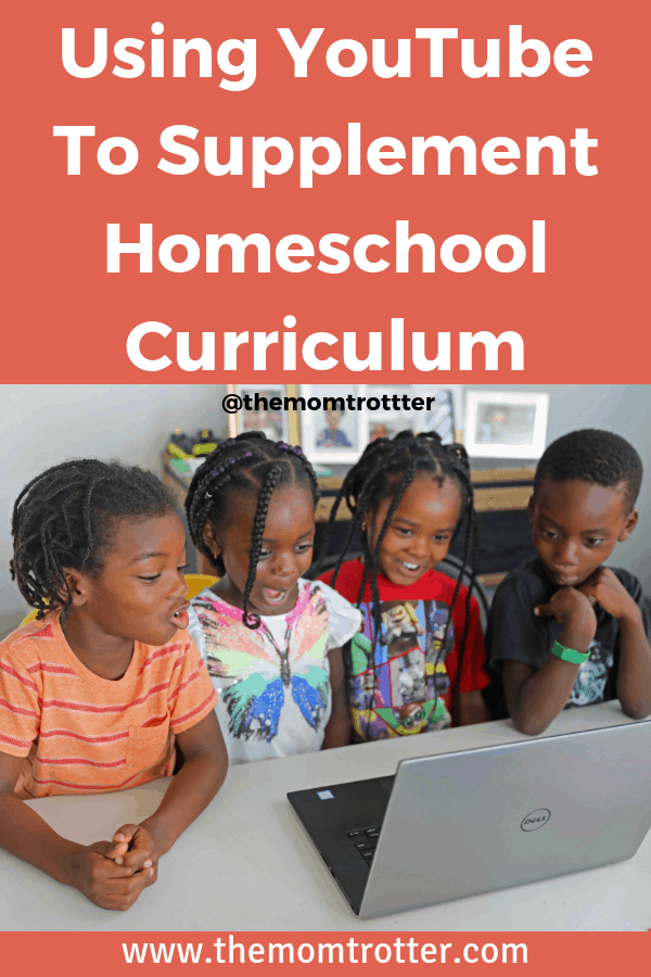 using YouTube to supplement homeschool curriculum