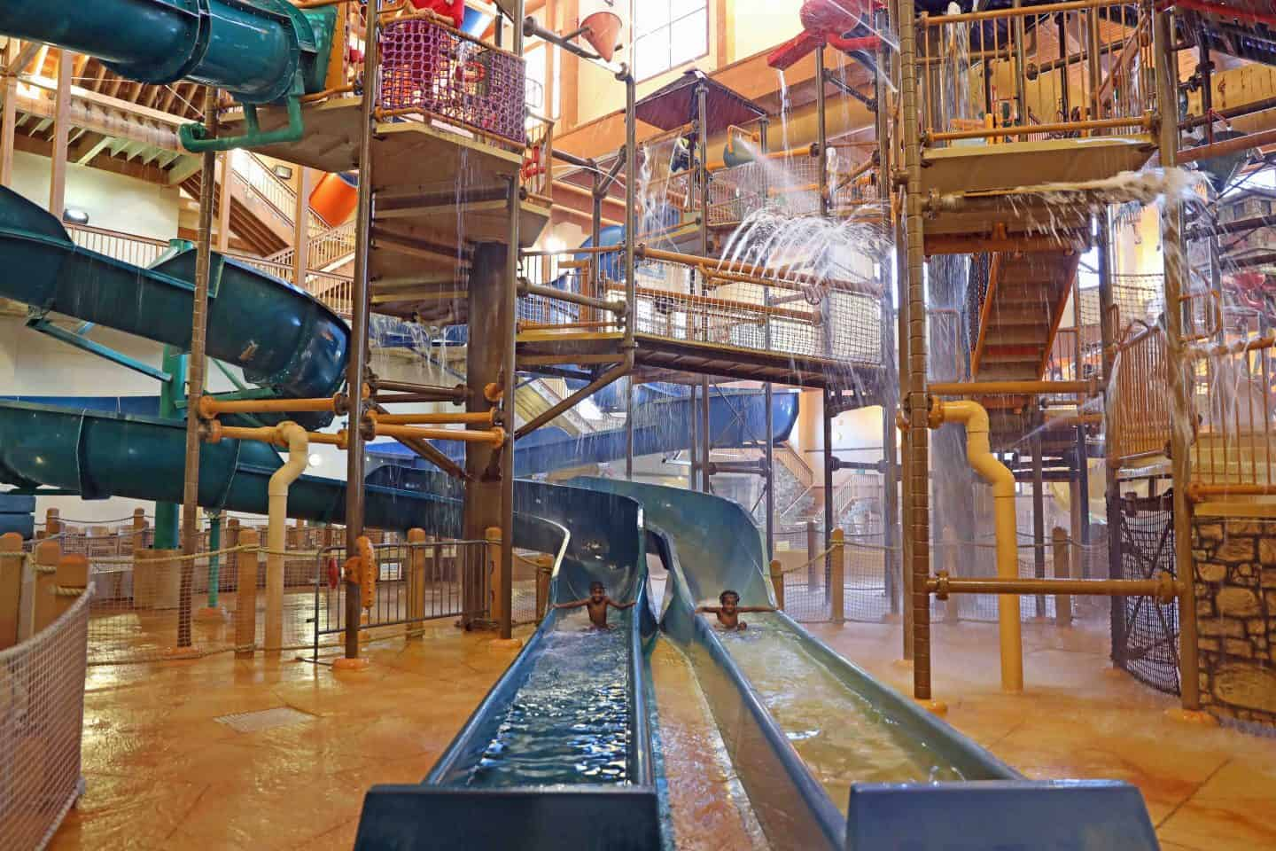 Top 5 Wisconsin Dells Indoor Water Parks
