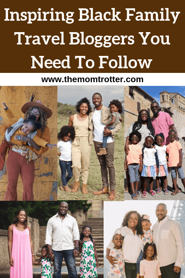 black family travel bloggers