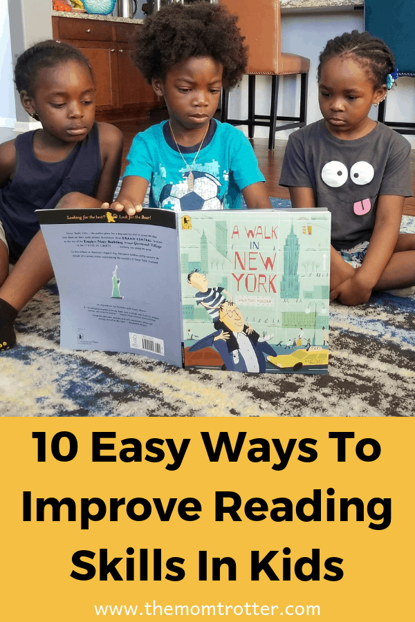 Easy Ways To Improve Reading Skills In Kids