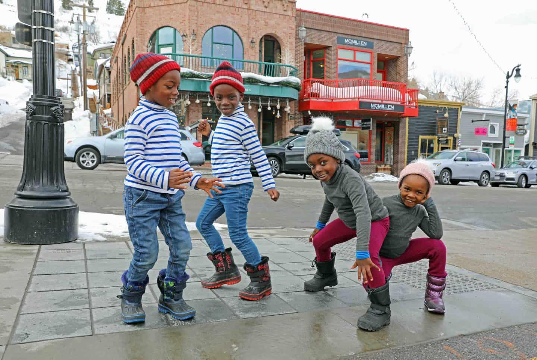 black kids travel to Utah