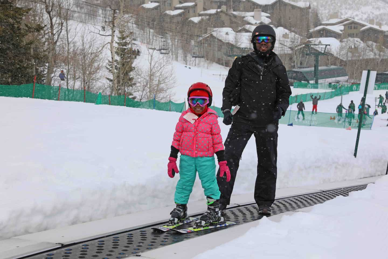 deer valley resort - skiing with kids