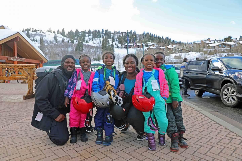 black family travel to utah
