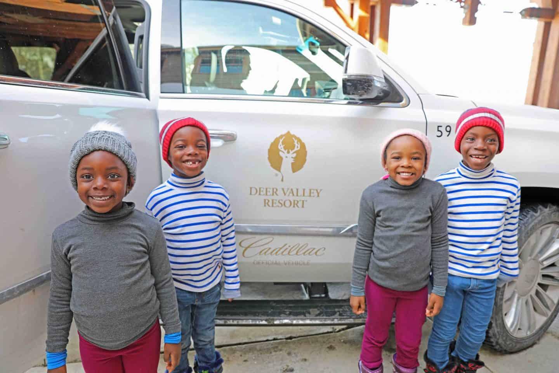 children at deer valley resort utah