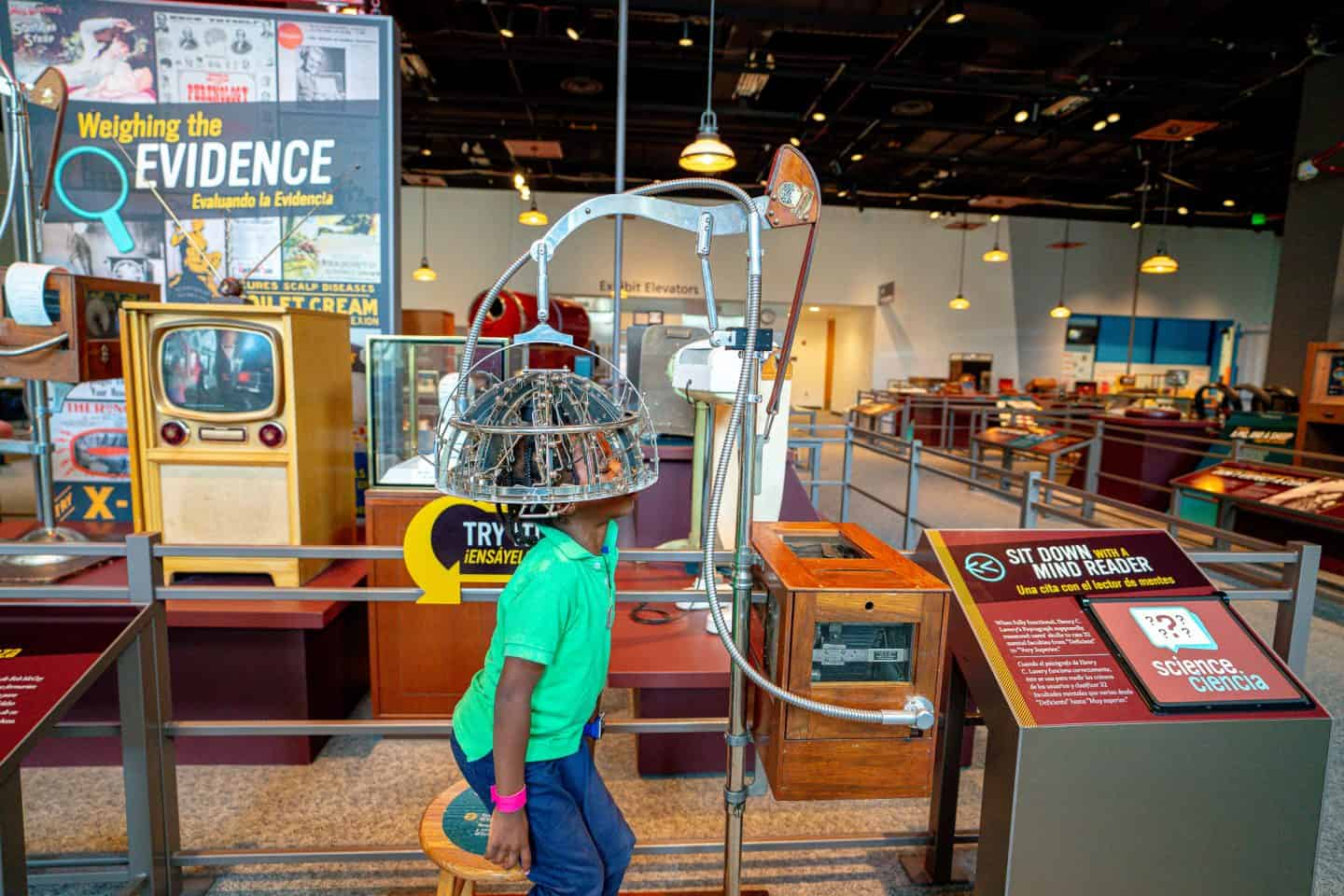 black kids travel to science museum