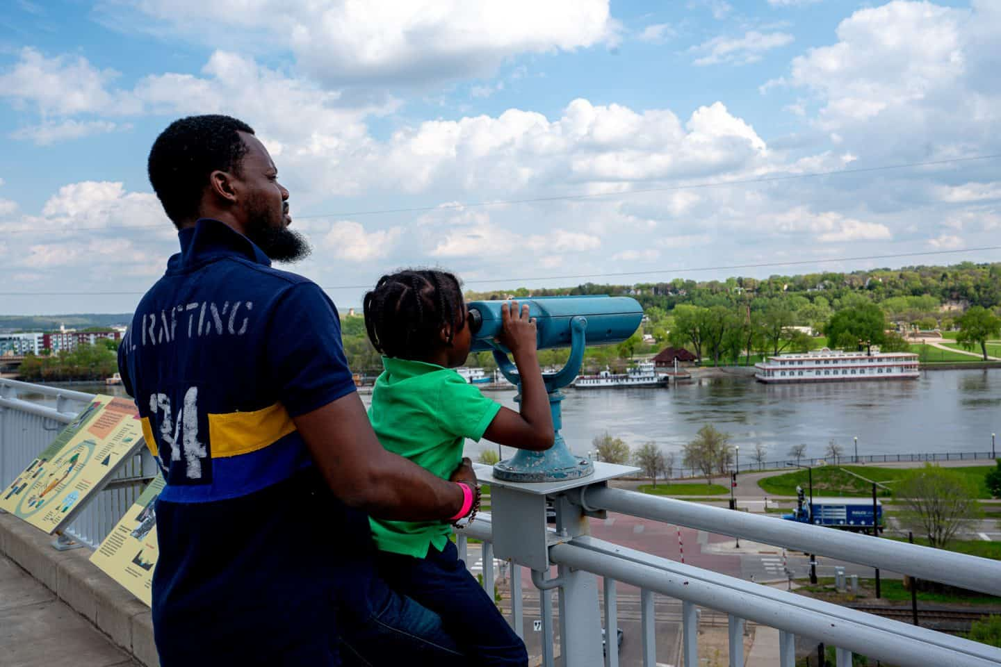 black kids do travel Mississippi river minneapolis