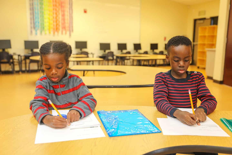 black kids homeschool