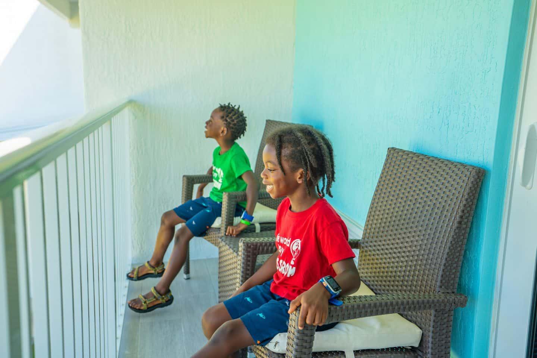 Holiday Inn Express Marathon Fl with black kids