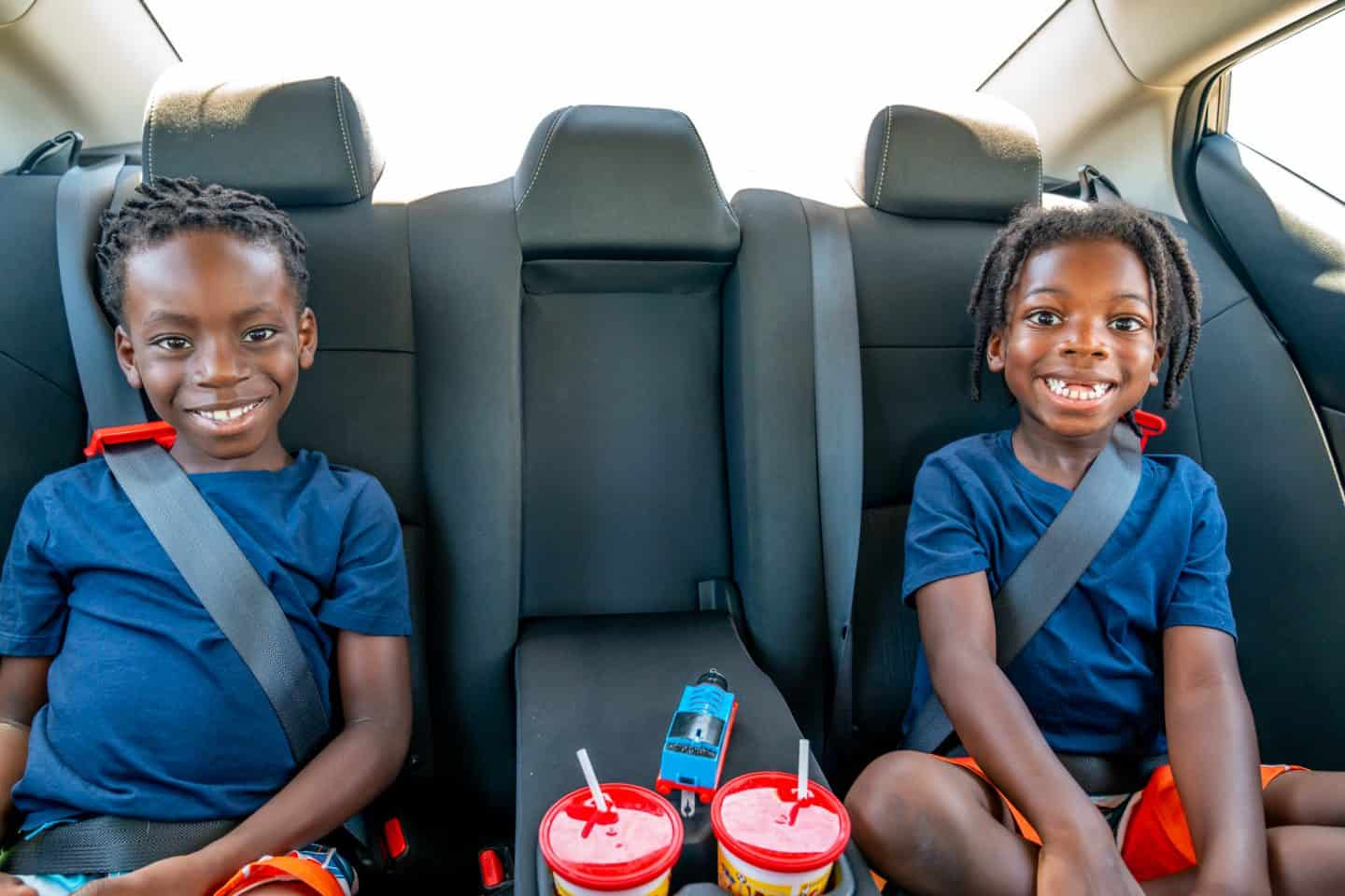 planning a road trip with kids