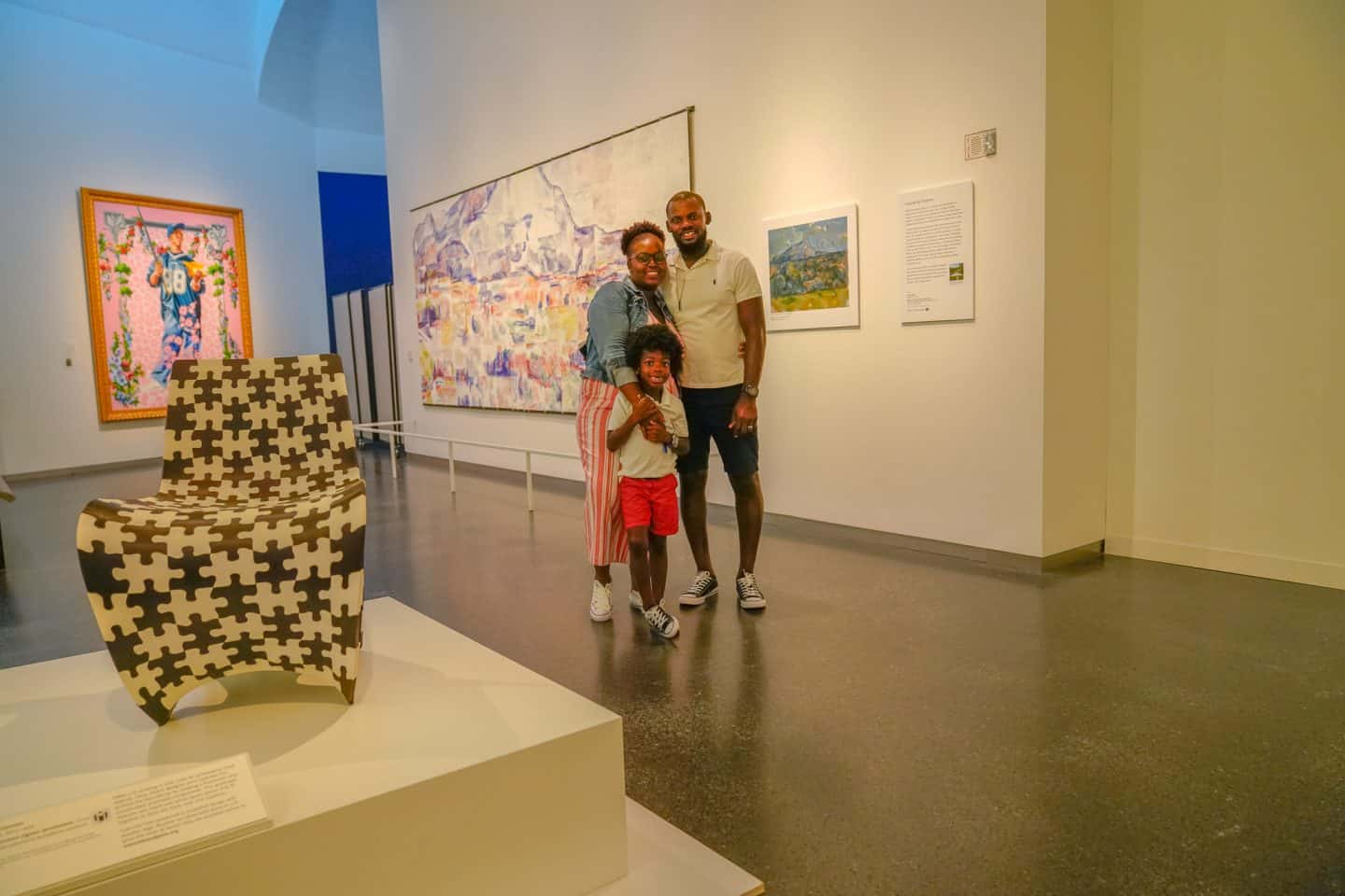 visit the nelson atkins museum with family