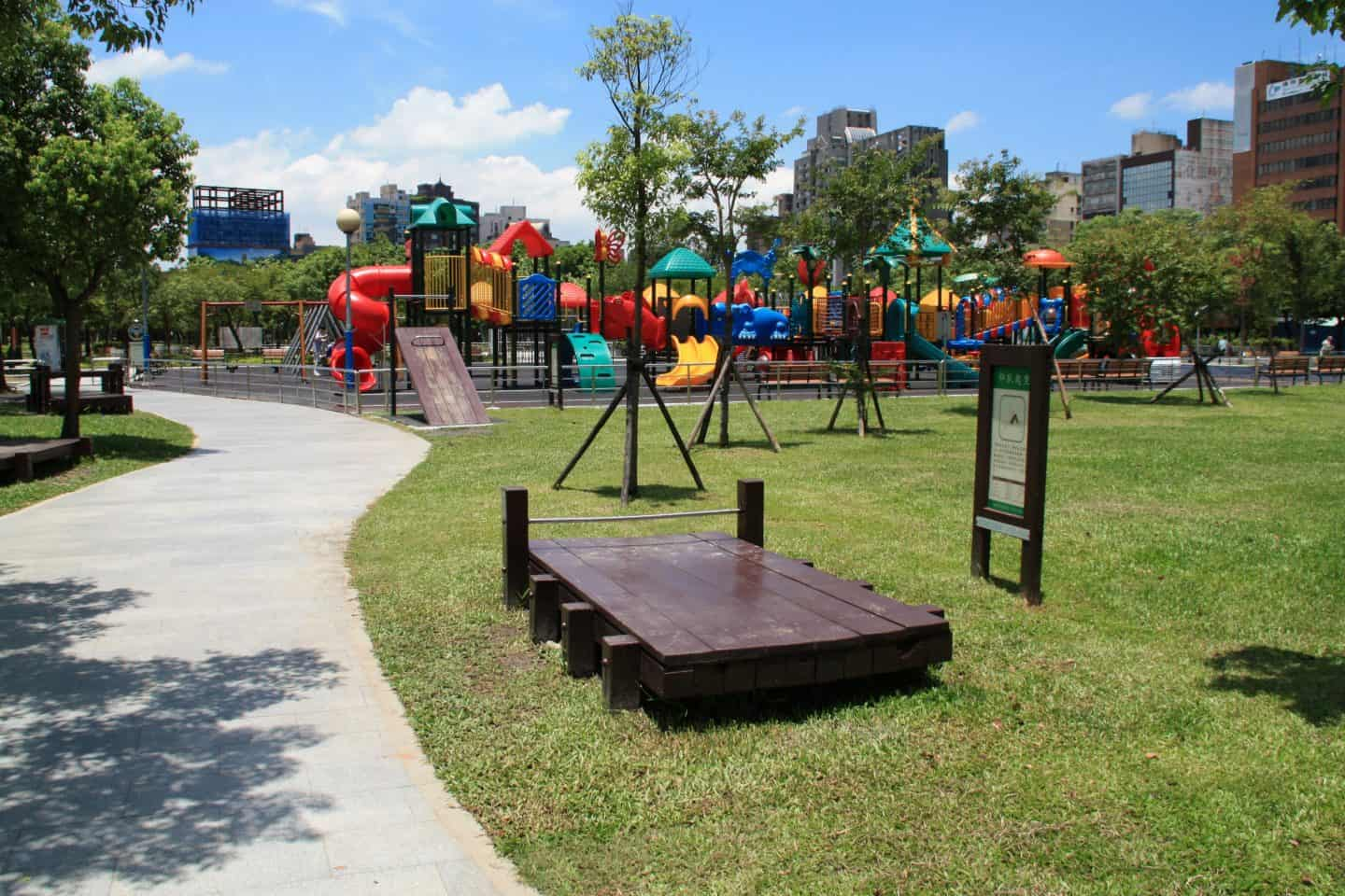 Playground at Daan Park for kids