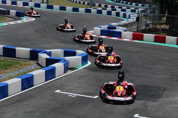 try go-kart at Taroko Park