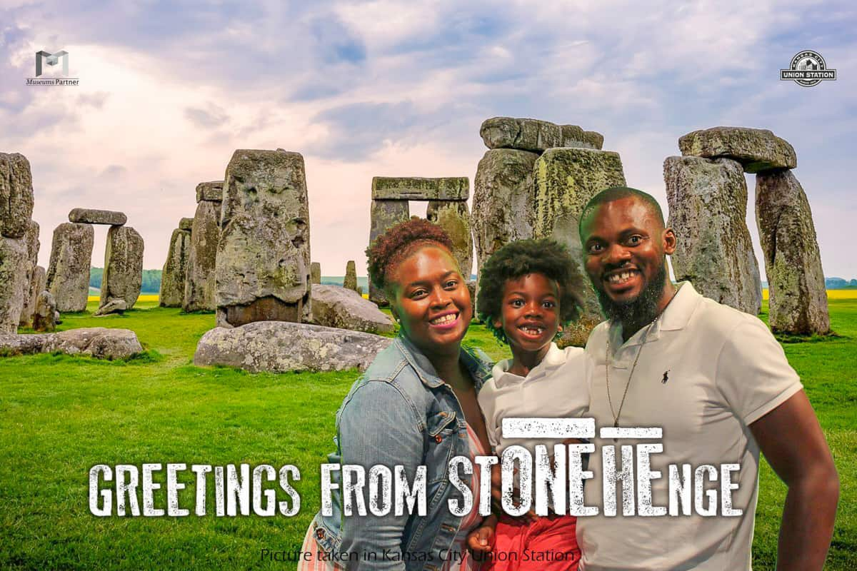 visit Stonehenge Exhibit with family