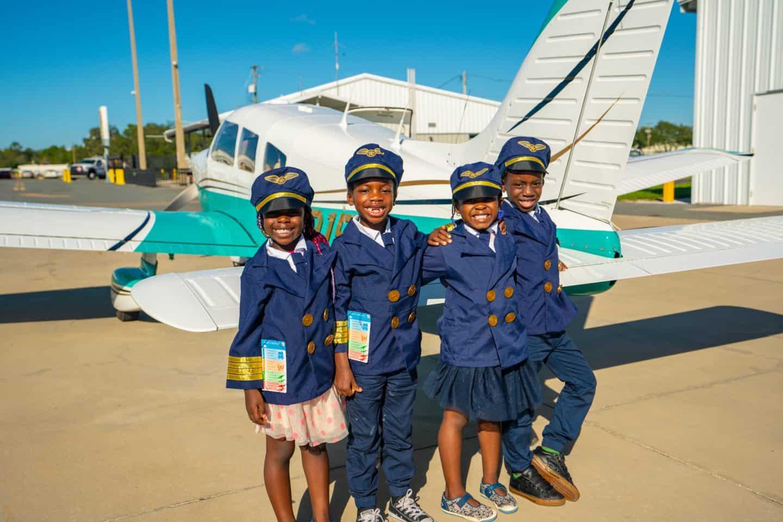 Black Kids Travel - Black Family Travel - Black Travel - Black Pilot - Kid Pilot
