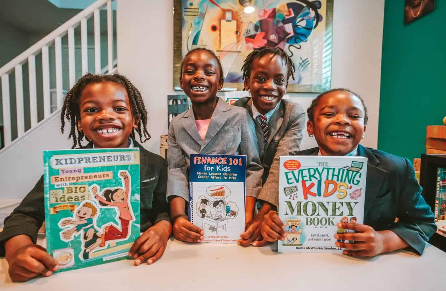 25+ Best Books To Teach Your Kids About Entrepreneurship And Earning Money