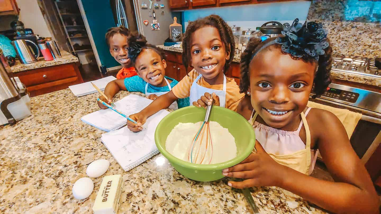 Teaching Kids Math, Science, and Health by Meal Planning and Cooking