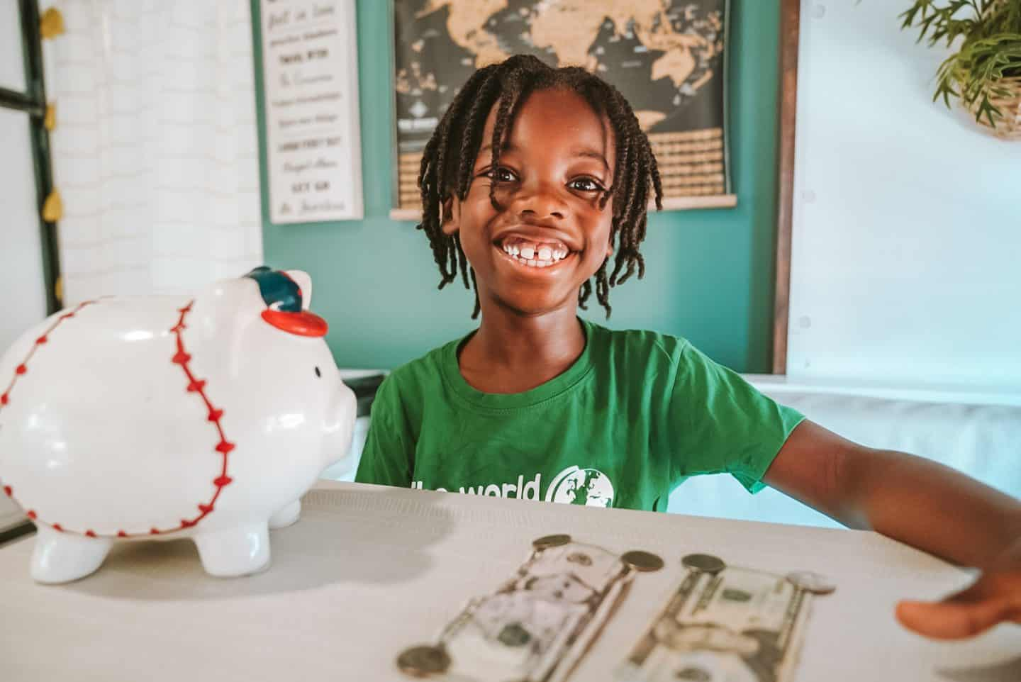 How To Use Money To Teach Kids Math, Social Studies, Reading and Writing