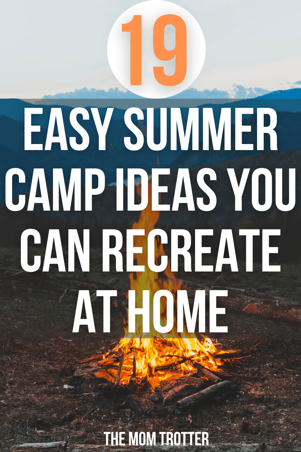 19 Easy Summer Camp Ideas You Can Recreate At Home